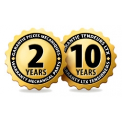 TWO YEARS OF WARRANTY, ASSISTANCE & VIP SERVICES